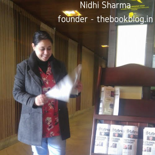 Nidhi Sharma the book blog